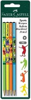 Faber-Castell 5504119170 Blister Kurşun Kalem 4'lü, Sport