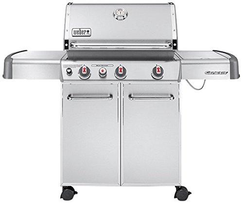 Weber 6570553 Genesis S-330 GBS Barbecue à Gaz 3 Brûleurs Inox