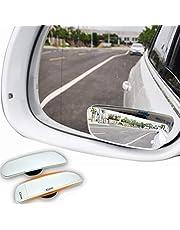Espejos convexos de punto ciego para vehículos, adhesivos, 2 unidades