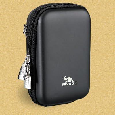 Rivacase 7103 Hardcase Für Digitalkamera Hellblau Kamera