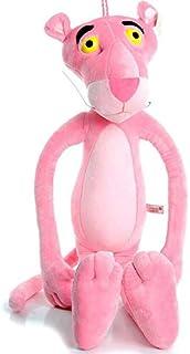 دمية مجشوة مجسم النمر الوردي لون زهري 64 سم