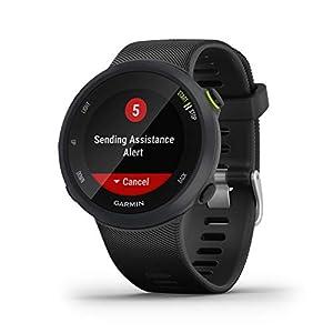 Garmin Forerunner 45 L/G - Reloj Multisport con GPS, Tecnología Pulsómetro Integrado, color Negro