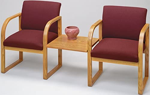Lesro Cheap super special price R2411G3 Waiting Room Chairs Electric Ranking TOP5 finish Walnut fabric