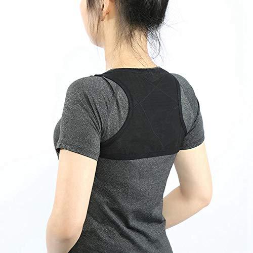 Atmungsaktive Körperhaltung Korrektor Rücken Gürtel Unterstützung Wirbelsäule Orthopädische Bandage Gesundheit Schönheit Schulter Hosenträger