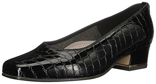 ara Women's Gada Pump,Black Croco,5 W US