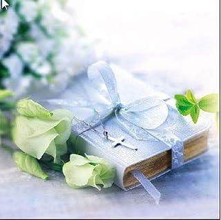 Ambiente servetten motief: Bible - Bijbel Lunch, 33x33cm, bruiloft, confirmatie, communie, doop 20 stuks verpakking