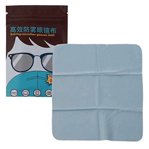 50 toallitas antivaho para gafas, prehumedecidas, antiempañamiento y limpieza de lentes envueltas individualmente desechables
