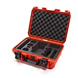 Nanuk DJI Drone Waterproof Hard Case with Custom Foam Insert for DJI Mavic 2 Pro/Zoom - Orange