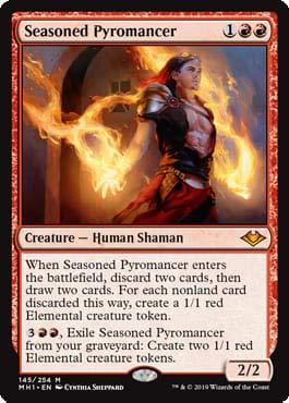 Magic: The Gathering - Seasoned Pyromancer - Modern Horizons