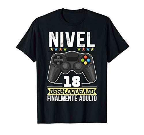 18 Años Regalo De Cumpleaños Chico Humor Chica Gamer Camiseta