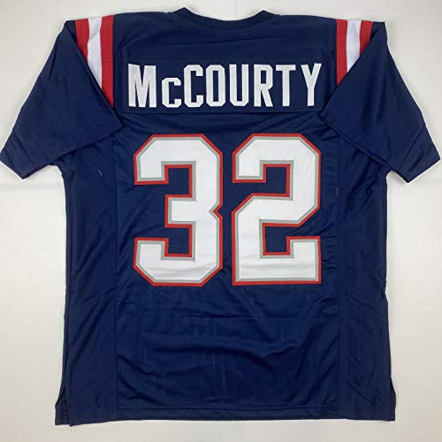 Unsigned Devin McCourty New England Blue Custom Stitched Football Jersey Size XL New No Brands/Logos