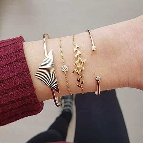 Jewellery Bracelets Bangle For Womens Bohemian Gold Color Beads Bracelet Set Beach Jewelry Boho Pearl Charm Bracelets For Woman 83424