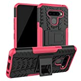 LiuShan LG Q60 / LG K50 Case, [Shockproof] Heavy Duty Combo