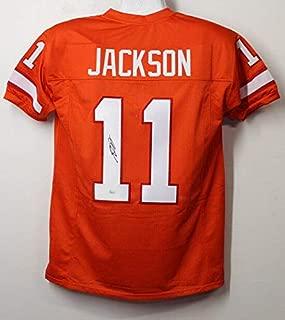 Desean Jackson Autographed Tampa Bay Bucs Size XL Orange Jersey JSA