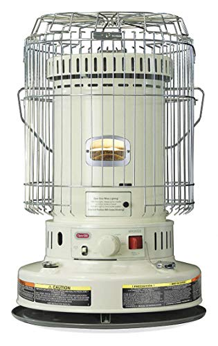 Lowest Prices! DYNA-GLO Kerosene Convection Heater, 1.9 gal, 0.07 GPH, BtuH Output 23,800, 1000 sq. ...