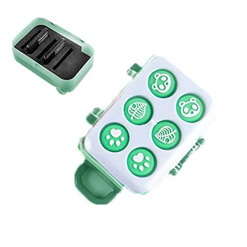 Elyco Speicherkarten Schutzbox für Spiel Nintendo Switch, Game Card Case Speicherkartenetui Aufbewahrungs Schutzhülle Tasche with Button Cap Kompatibel mit Spielkarte Switch