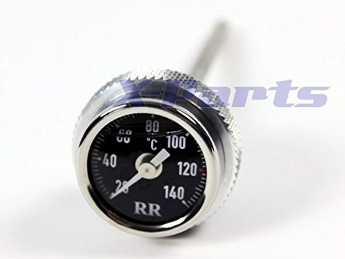 RR Öltemperatur Anzeige Ölthermometer F650 GS + Dakar SCHWARZ NEU