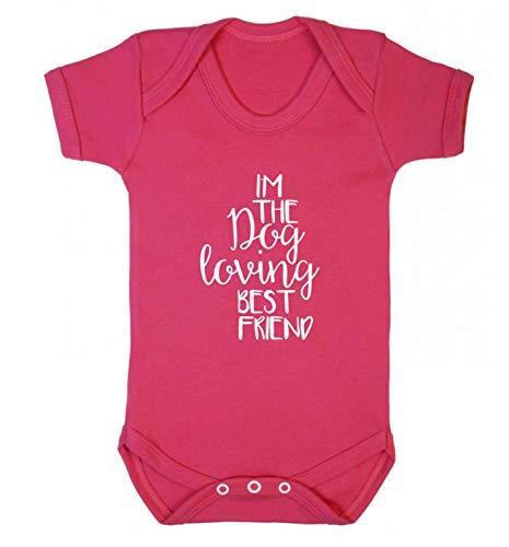 Flox Gilet pour bébé avec Inscription « Best Friend » - Rose - XS