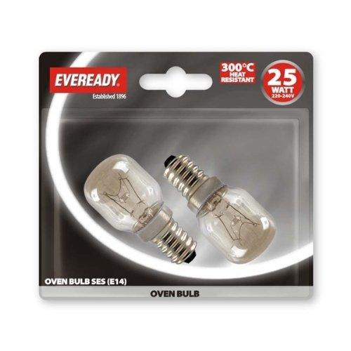 Eveready - Lámpara de horno (25 W, SES pk2)