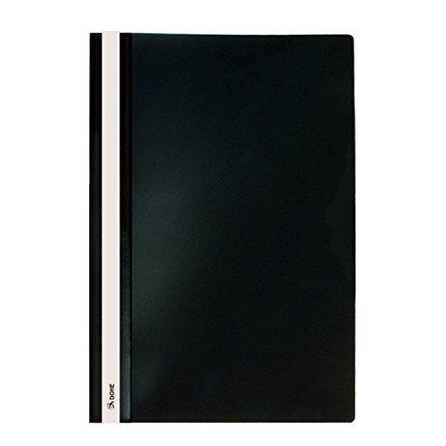Dohe 91355 - Dossiers con fástener, tamaño folio, color negro