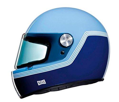 CASCO INTEGRALE VINTAGE NEXX XG.100 R MOTORDROME BLUE (L)