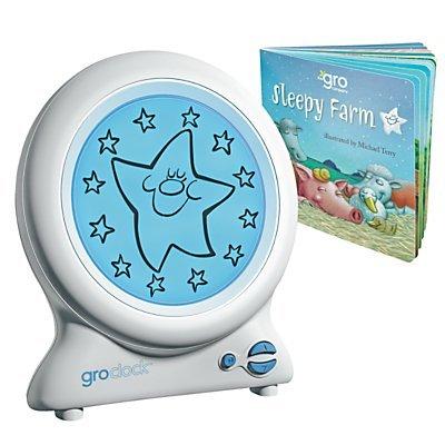 Sleep Trainer Clock with Night Light for Children Kids Baby & Toddler