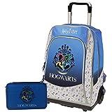Schoolpack - Mochila escolar organizada con 3 cremalleras y