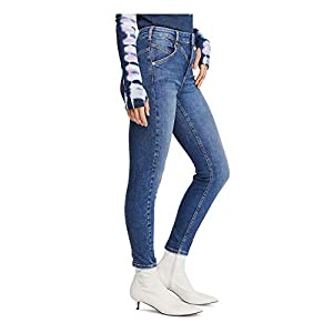Free People Women's Riley Seamed Skinny Jeans