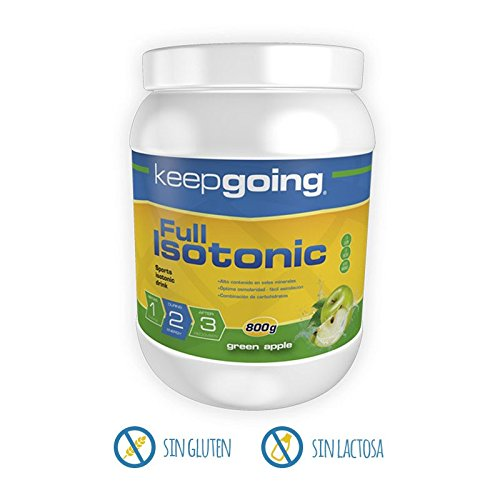 Bebida Isotónica Full Isotonic KEEPGOING 800g Green Apple