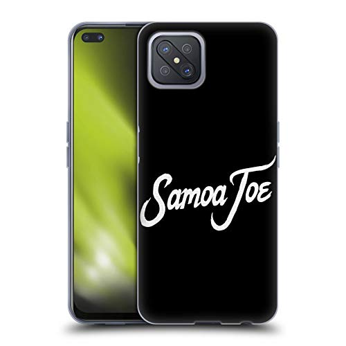 Head Case Designs Officially Licensed WWE Logo Samoa Joe Soft Gel Case Compatible with Oppo A92s