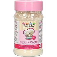 FunCakes Merengue en Polvo Listo para Usar de color Blanco Sin Azúcar y con Claras de Huevos de Gallinas Criadas en Libertad,  150g, 42397