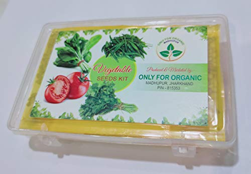 Only For Organic Combo of Tomato, Chilli, Coriander & Spinach Seeds