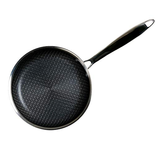 Copper Chef Titan Pan, Try Ply Stainless Steel Non- Stick Pans (11 Inch Fry Pan)