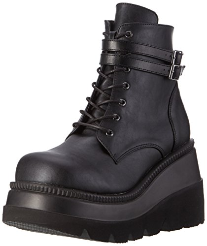 Demonia Damen SHAKER-52 Stiefel, Schwarz (Schwarz), 38 EU
