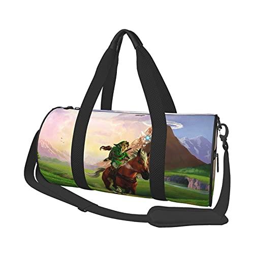 Anime The Legend of Zelda - Bolsa de viaje unisex para ir al gimnasio, entrenamiento, compras, hombro
