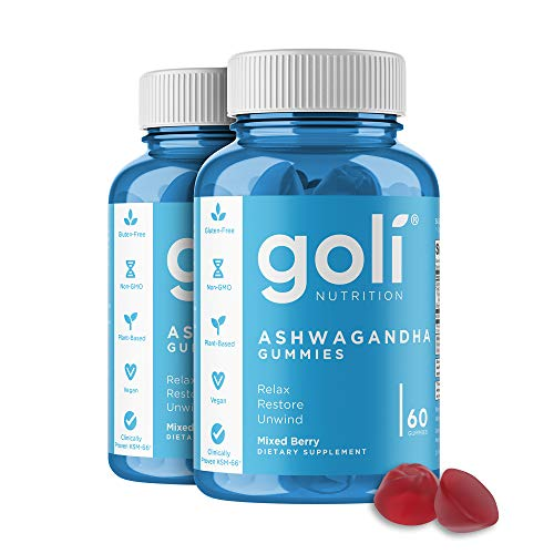 ASHWA Vitamin Gummy by Goli Nutr...