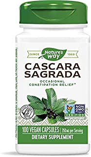 Cascara Sagrada Bark Nature's Way 100 Caps