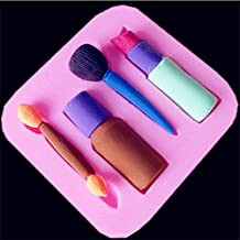 Generic Lipstick Silicone Cake Chocolate Molds Fondant Cake Decorating Tools Cookie Baking Mold DIY Pastry Bakeware