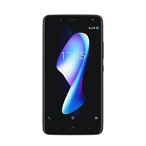 BQ Aquaris V Plus Smartphone deep black (5,5 Zoll FHD, Qualcomm Snapdragon Octa Core, 64 GB + 4 GB RAM, 12 MP-Kamera, NFC, Fingerabdrucksensor, Android 7.1.2)