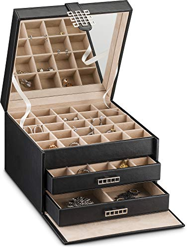 Extra Large Earring Jewelry Box Organizer