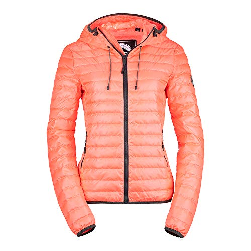 Superdry Accessoires Bekleidung Core Down Hooded Jacket G50001DR-T2Q pink 722299
