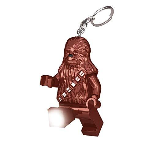 Lego LGLKE60 - Star Wars Schlüsselhänger mit Lampe Chewbacca, mehrfarbig