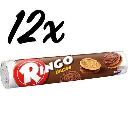 12x Pavesi Ringo Kekse Cacao 'Kakao', 165 g