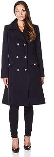 De La Creme Women`s Military Cashmere Wool Winter Coat