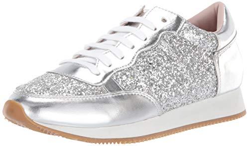Kate Spade New York Women's Felicia Sneaker, Silver, 6 M US