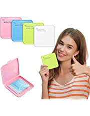 Portable Mask Storage, Mask Case, Reusable Mouth Cover Holder Organizer for Travelling/School/Work/Car, Waterproof, Dustproof, Lightweight and Stylish Face Cover Box