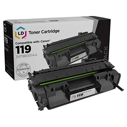 LD Compatible Toner Cartridge Replacement for Canon 119 3479B001AA (Black)