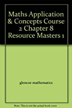 Maths Application & Concepts Course 2 Chapter 8 Resource Masters 1 (Algebra Readiness)