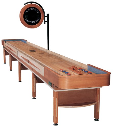 Fantastic Deal! Playcraft Telluride Honey Shuffleboard Table 22'