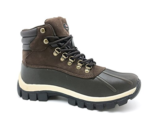 L&M Men Waterproof Rubber Sole Winter Snow Boots review